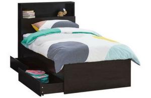 Como Single Deluxe Storage Bed