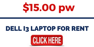 DELL i3 LAPTOP FOR RENT