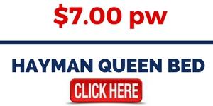 Rent Hayman Queen Bed