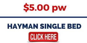 Rent Hayman Single Bed