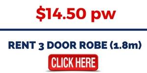 RENT 3 DOOR ROBE (1.8m)