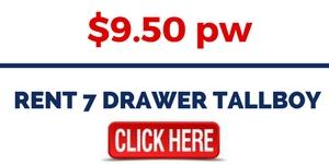 RENT 7 DRAWER TALLBOY