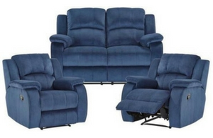 Venice 2 Seat Recline Sofa+2 Single Recliners