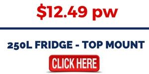 250L FRIDGE - TOP MOUNT FOR RENT