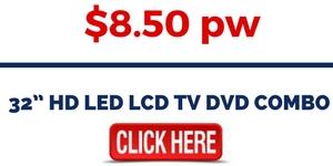 "32"" HD LED LCD TV DVD COMBO"