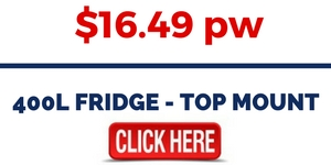 400L FRIDGE - TOP MOUNT FOR RENT