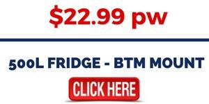 500L FRIDGE - BTM MOUNT FOR RENT
