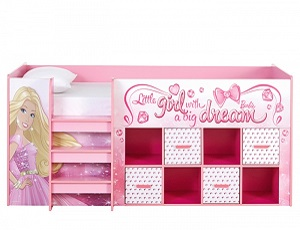 Barbie Kids Bed for Rent