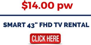 SMART 43- FHD TV RENTAL