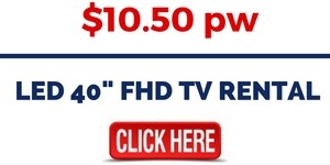 LED 40- FHD TV RENTAL
