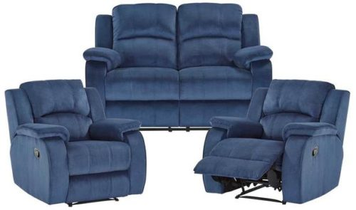 Rent Venice 2 Seat Recline Sofa+2 Single Recliners