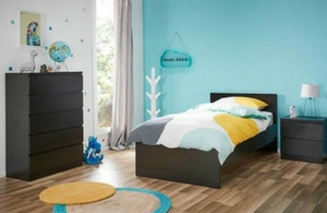 Como Single Deluxe Storage Bed With Tallboy Package