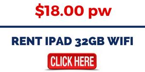RENT IPAD 32GB WIFI