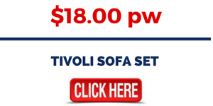 RENT LOUNGE FURNITURE - TIVOLI SOFA SET