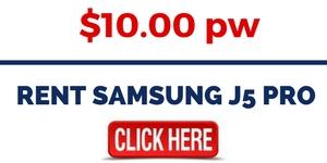 RENT SAMSUNG J5 PRO