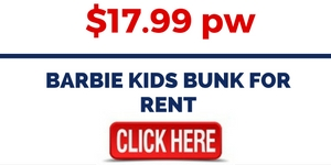 Barbie Kids Bunk For Rental