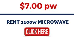 RENT 1100w MICROWAVE