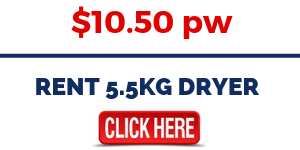 RENT 5.5KG DRYER