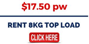 RENT 8KG TOP LOAD