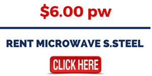 RENT MICROWAVE S.STEEL