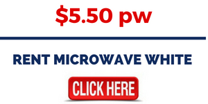 RENT MICROWAVE WHITE