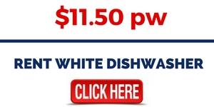 RENT WHITE DISHWASHER
