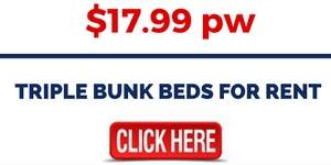 Triple Bunk Beds For Rental