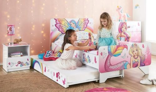 Rent Barbie Dreamtopia Single Bed+Trundle Plus Package