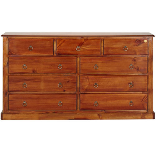 Rent Bounty 9 Drawer Lowboy