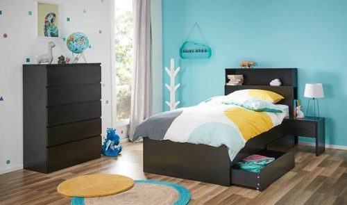 Rent Como Single Deluxe Storage Bed with Tallboy Package