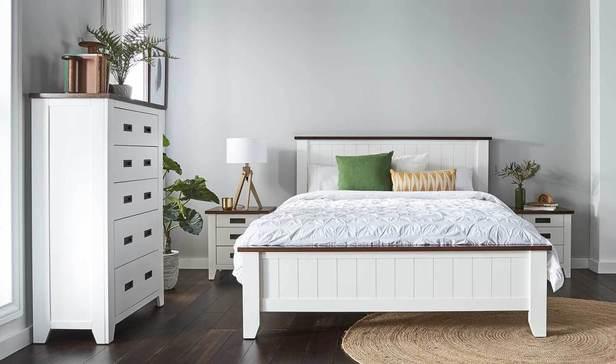 Rent Bedroom Furniture - Sorrento Queen Bedroom Package with Tallboy ...