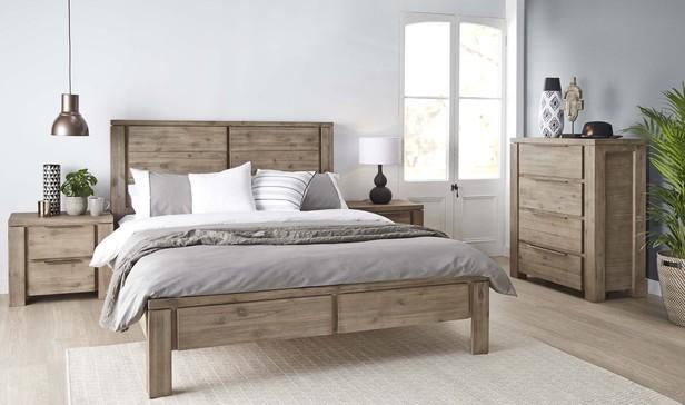 Rent Bedroom Furniture - Toronto Queen Bedroom Package with Tallboy ...