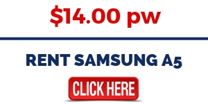 RENT SAMSUNG A5 MOBILE PHONE
