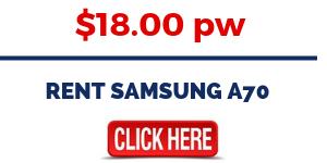 Rent the Samsung Galaxy A70