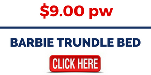 BARBIE TRUNDLE BED