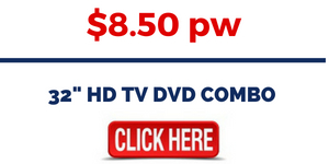 RENT 32 inch HD TV DVD COMBO
