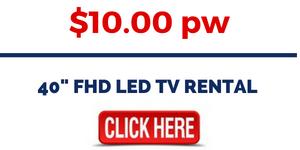 RENT 40 inch FHD LED TV
