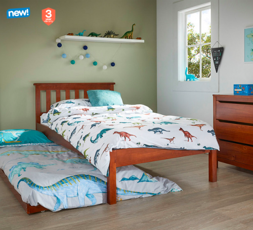 Cooper Single Bed + Trundle