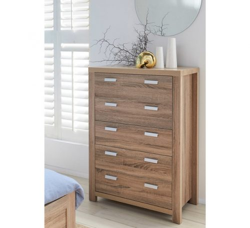 Rent Havana 5 Drawer Tallboy