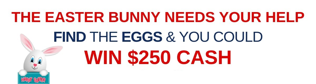 THE EASTER BUNNY NEEDS YOUR HELP 2021